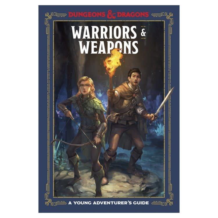 Random House Dungeons and Dragons: Young Adventurer's Guide: Warriors & Weapons
