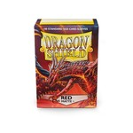 Arcane Tinman Dragon Shields: Cards Sleeves -  Red Matte (100)