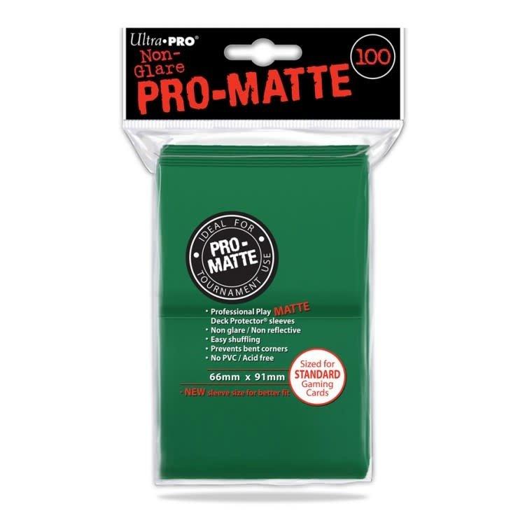 Ultra Pro Ultra Pro: Card Sleeves - Green Matte (100)