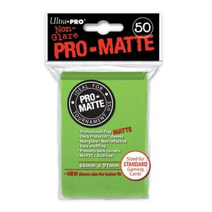Ultra Pro Ultra Pro: Card Sleeves - Matte Lime Green (50)