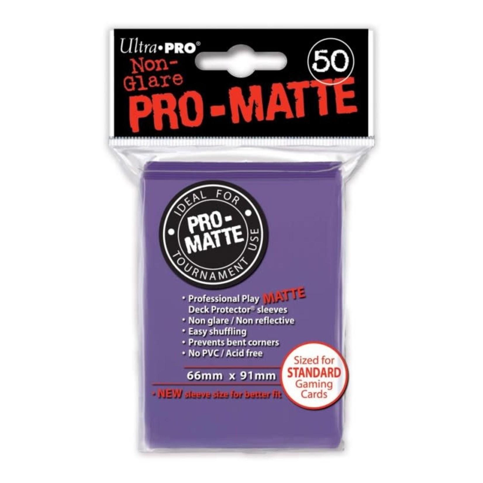 Ultra Pro Ultra Pro: Card Sleeves - Purple Matte (50)