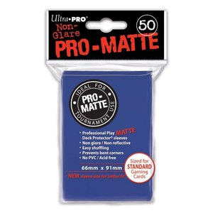 Ultra Pro Ultra Pro: Card Sleeves - Matte Blue (50)