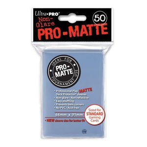 Ultra Pro Ultra Pro: Card Sleeves - Clear Matte  (50)