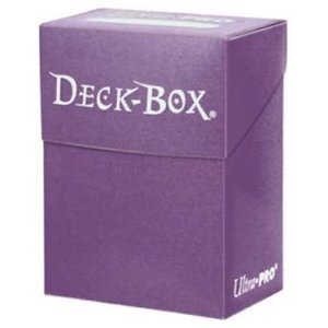 Ultra Pro Ultra-Pro Deck Box: Purple