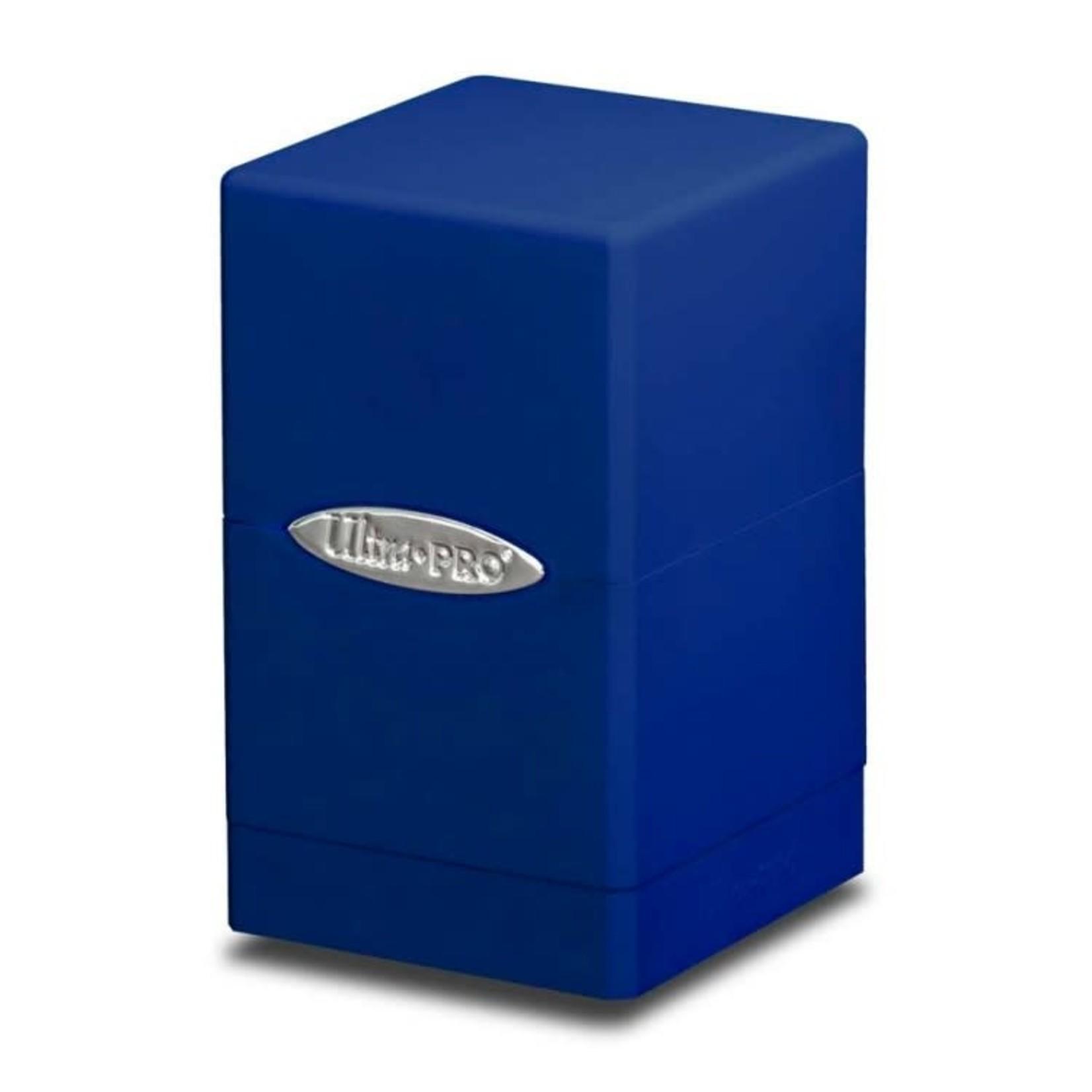 Ultra Pro Deck Box: Ultra-Pro Satin Tower Blue