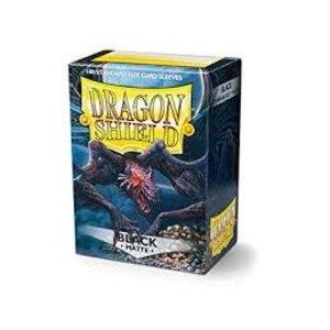 Arcane Tinman Dragon Shields: Card Sleeves - Black Matte (100)