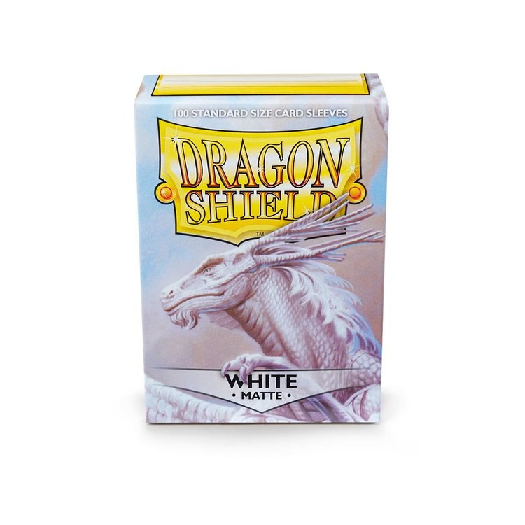 Arcane Tinman Dragon Shields: Cards Sleeves - White Matte (100)
