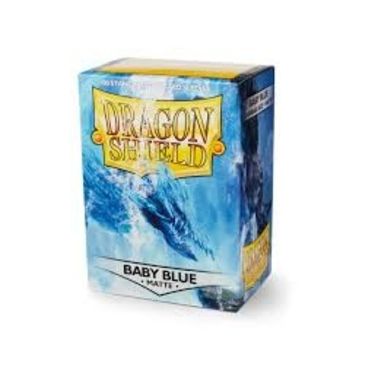 Arcane Tinman Dragon Shields: Card Sleeves - Baby Blue Matte (100)