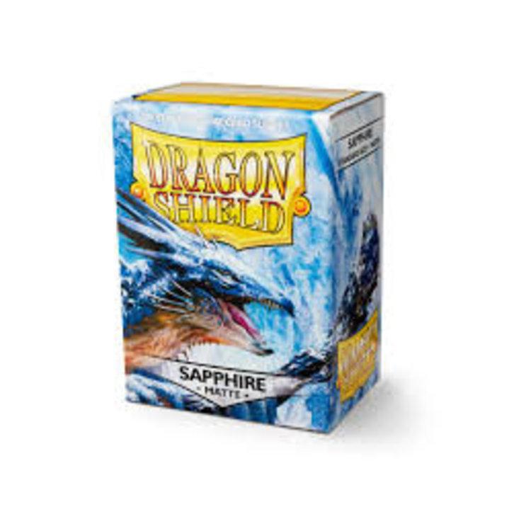 Arcane Tinman Dragon Shields: Cards Sleeves - Sapphire Matte (100)