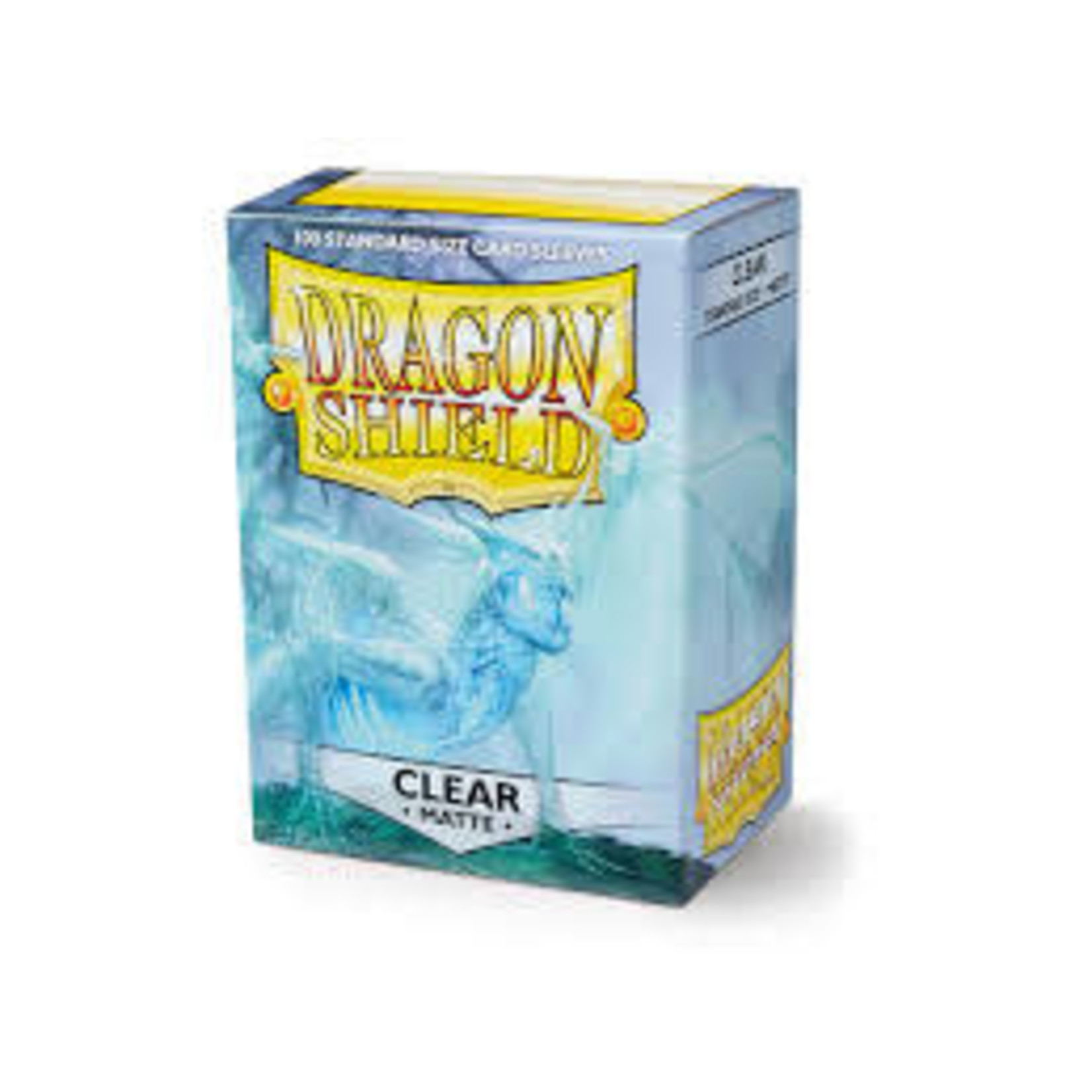 Arcane Tinman Dragon Shields: Cards Sleeves -  Clear Matte (100)