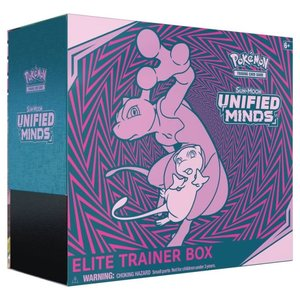 Pokemon International Pokemon Unified Minds Elite trainer box