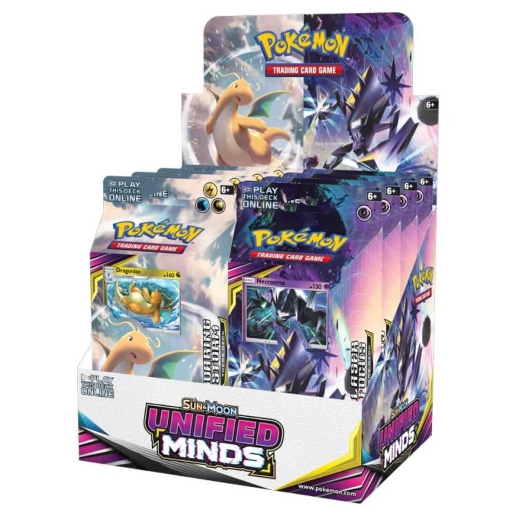 Pokemon International Pokemon Trading Card Game: Unified Minds Theme Deck