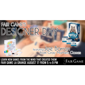 Admission: Designer Day - August 17