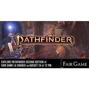 Pathfinder Second Edition Game (August 24 at La Grange)