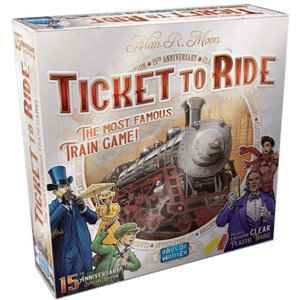 Days of Wonder Ticket To Ride: 15th Anniversary Ed