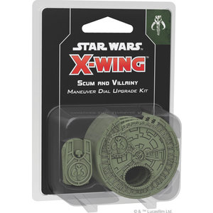 Fantasy Flight Games Star Wars X-Wing 2nd Edition - Scum and Villainy Maneuver Dial Upgrade Kit