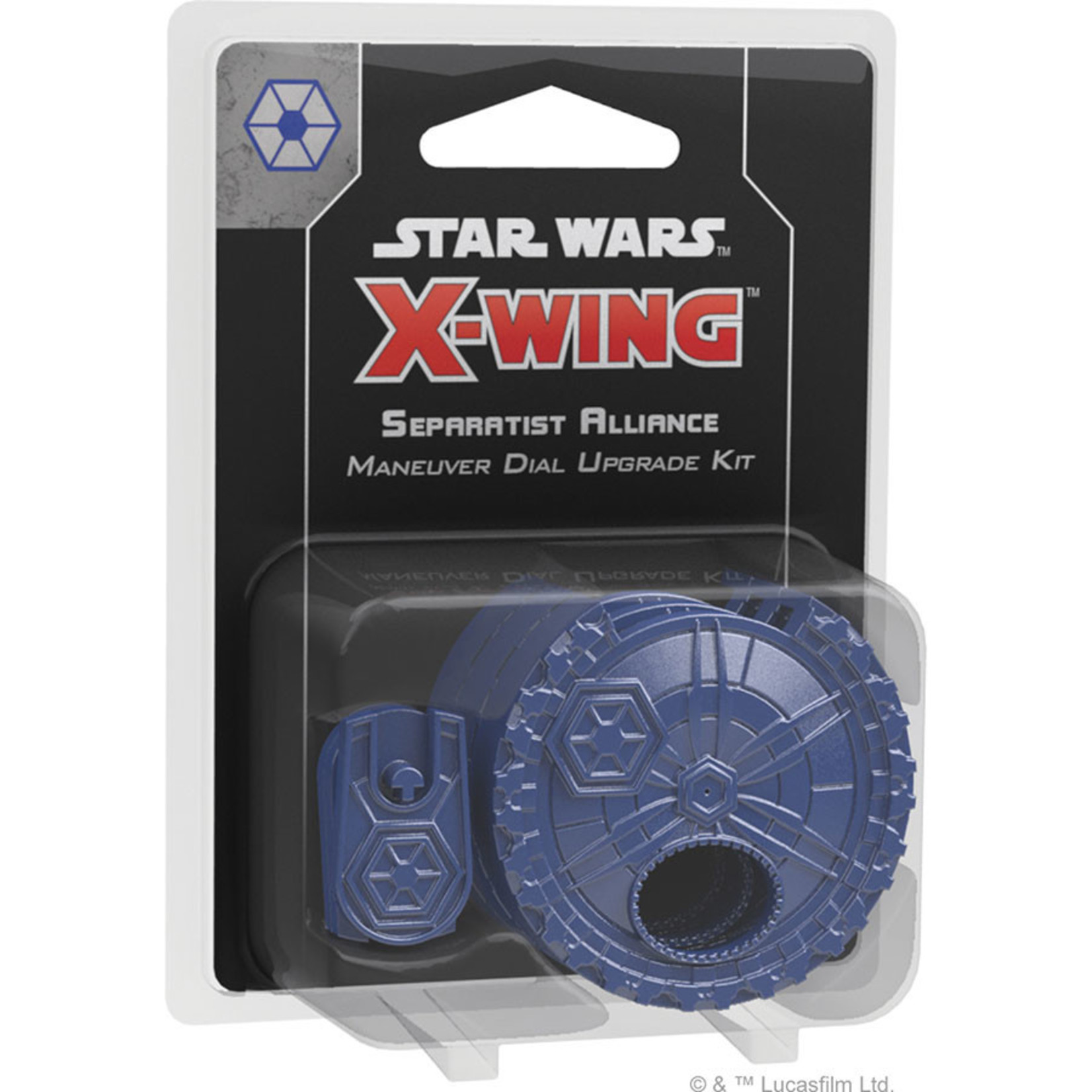 Fantasy Flight Games Star Wars X-Wing: 2nd Edition - Separatist Alliance Maneuver Dial Upgrade Kit