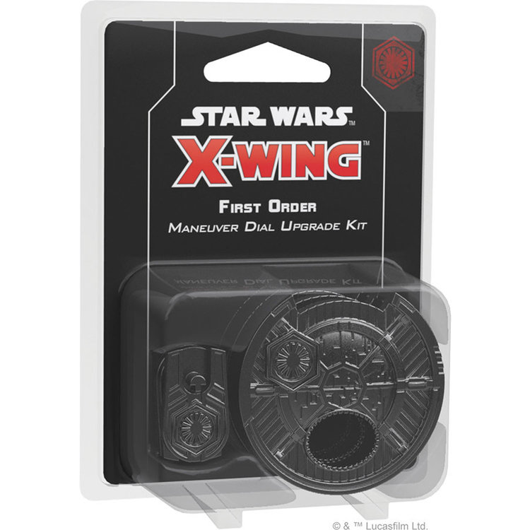 Fantasy Flight Games Star Wars X-Wing 2nd Edition: First Order Maneuver Dial Upgrade Kit