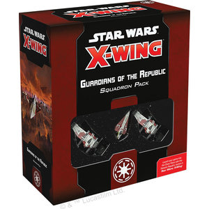 Fantasy Flight Games Star Wars X-Wing: 2nd Edition - Guardians of the Republic Squadron Pack
