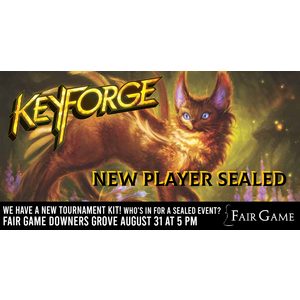 Fantasy Flight Games Admission: Keyforge New Player Sealed - August 31