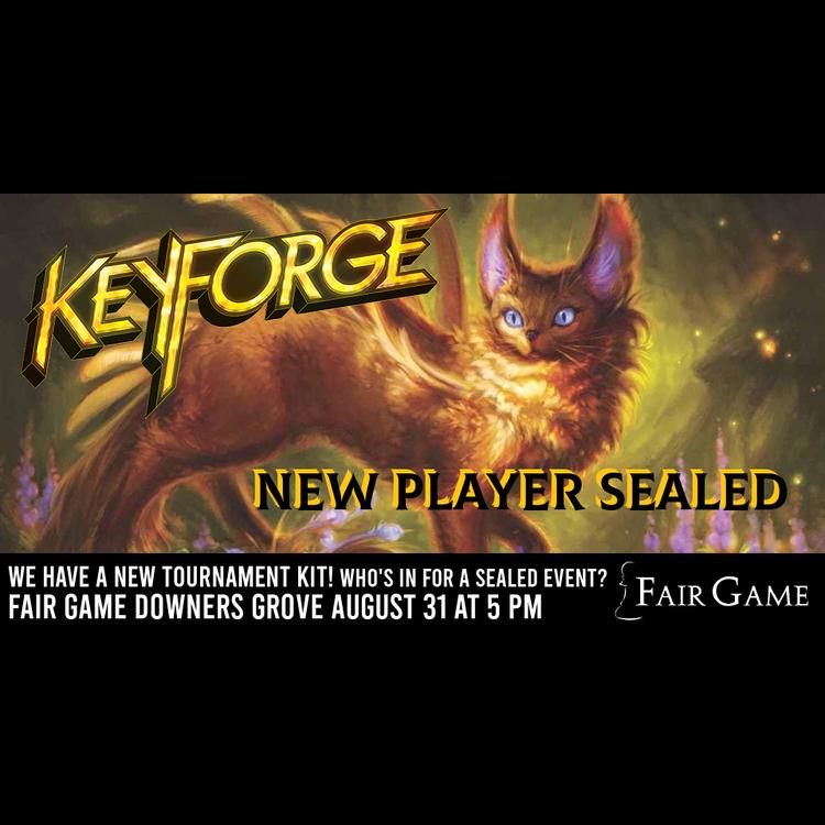 Fantasy Flight Games Admission: Keyforge New Player Sealed - August 31