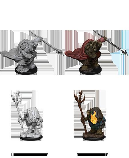 Tortles Adventurers Miniatures