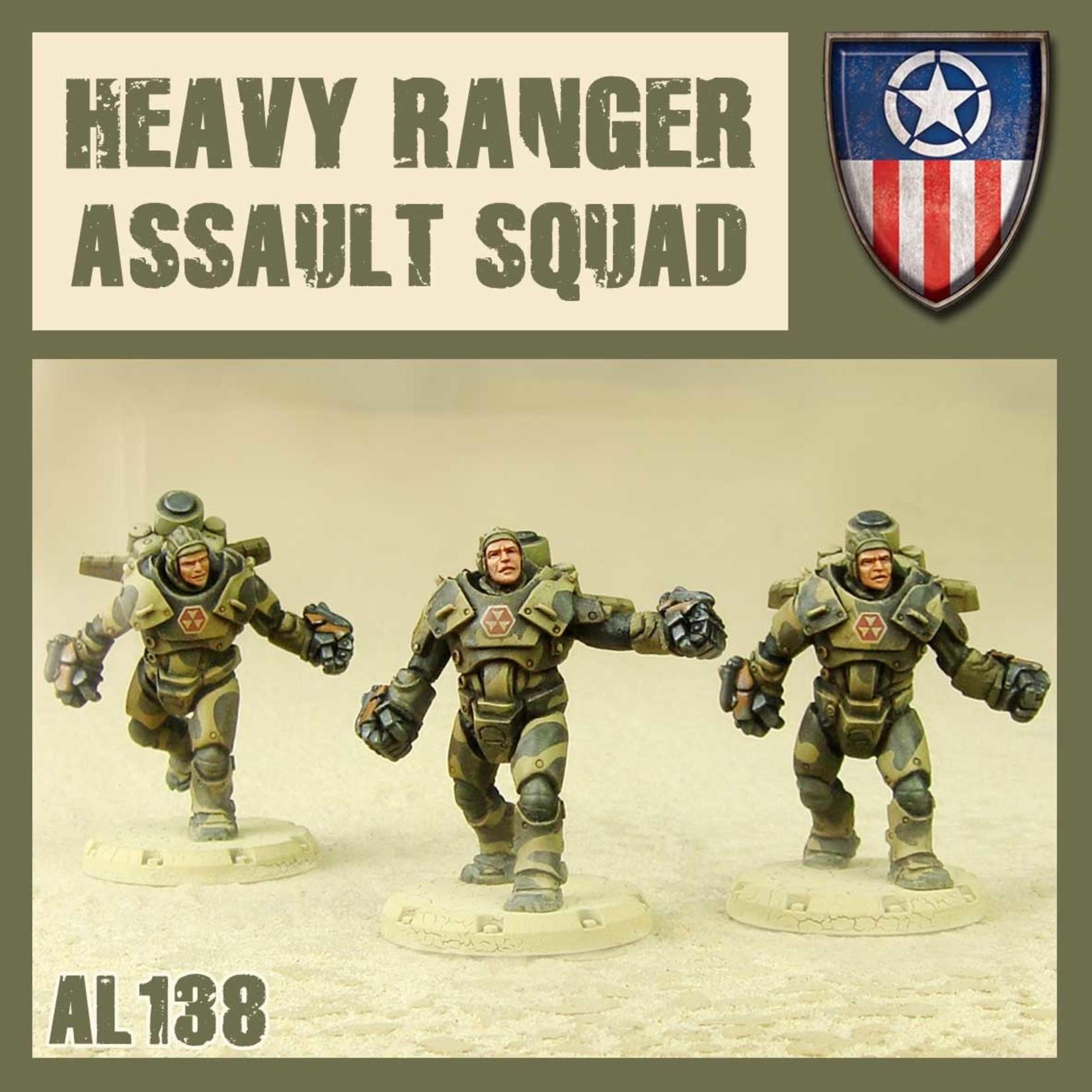 Dust DUST 1947: Heavy Ranger Assault Squad