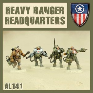 Dust DUST 1947: Heavy Ranger HQ