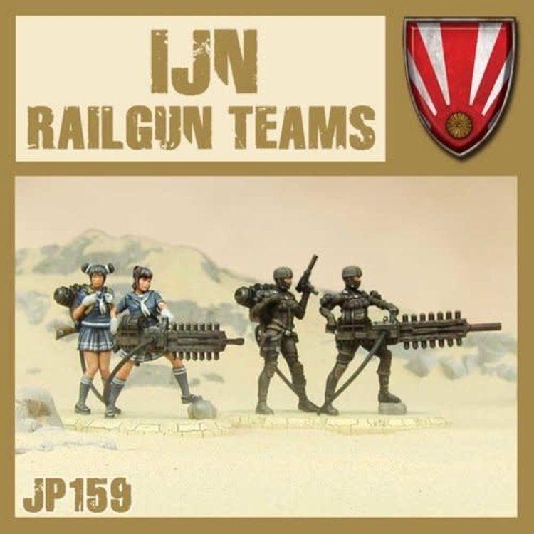 Dust DUST 1947: IJN Support Weapons (Railgun Teams)