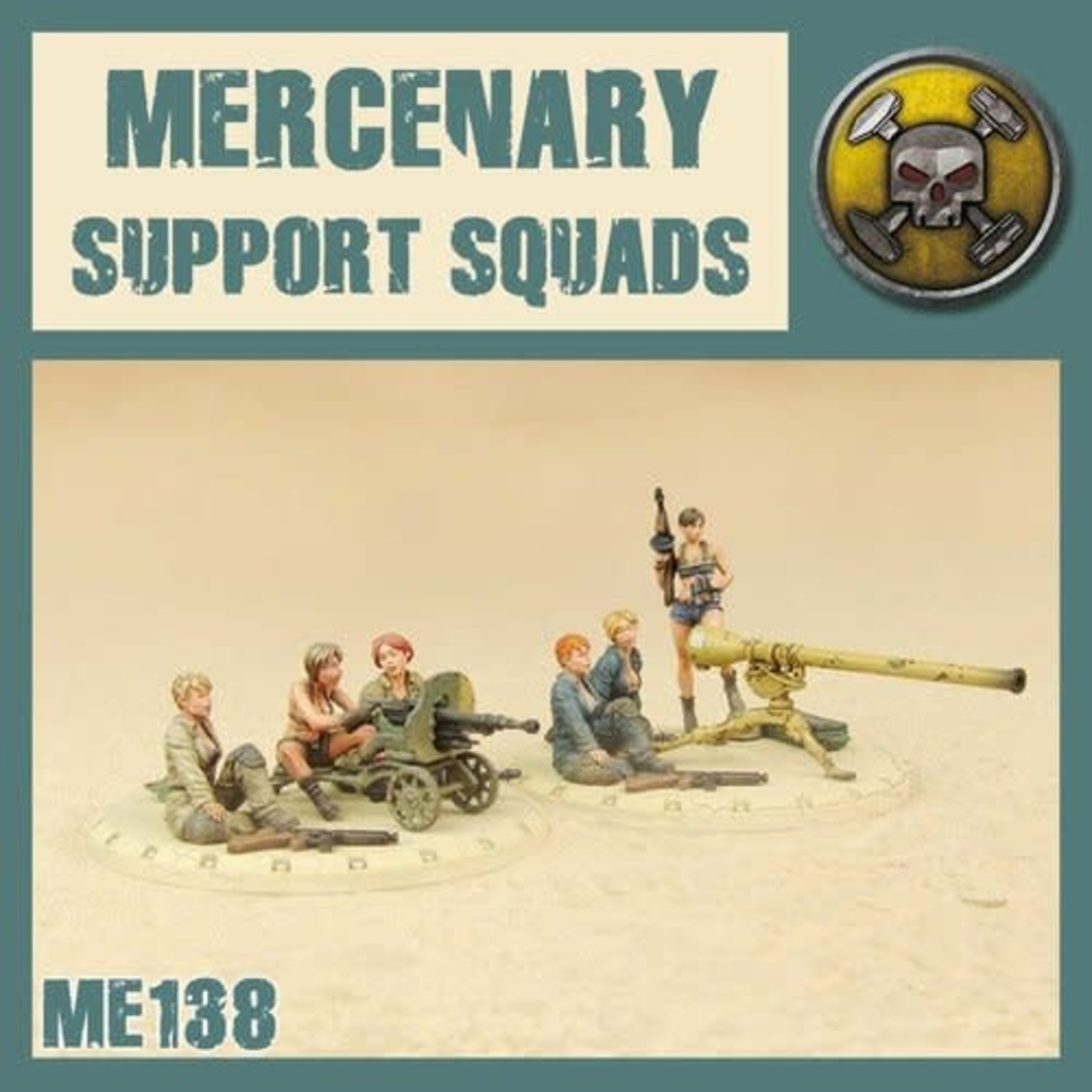 Dust DUST 1947: Mercenary Support Weapons