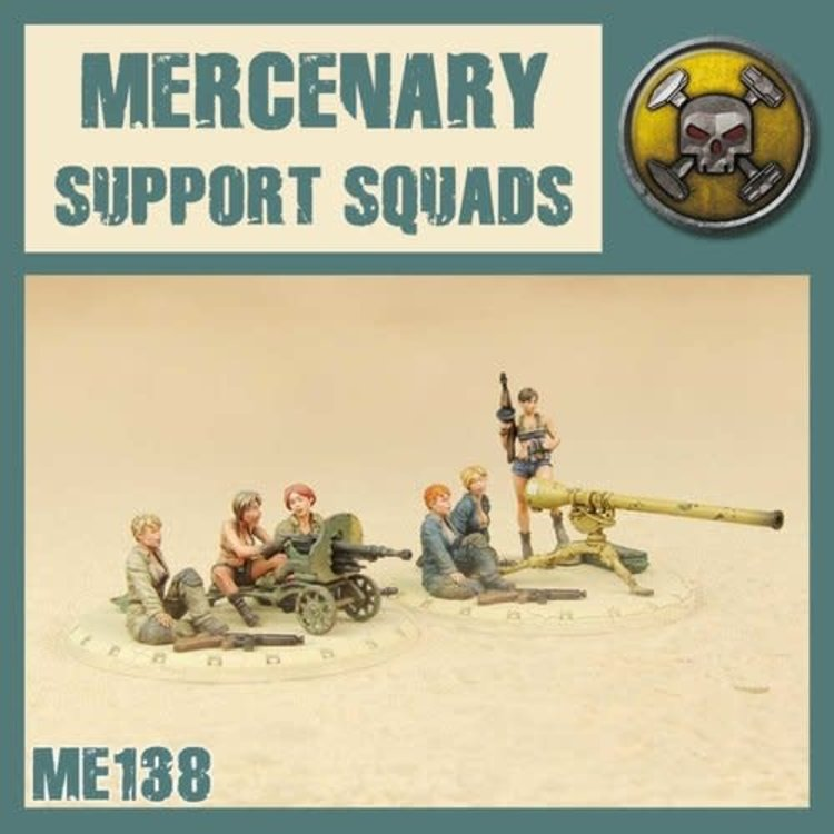 Dust DUST 1947: Mercenary Support Weapons