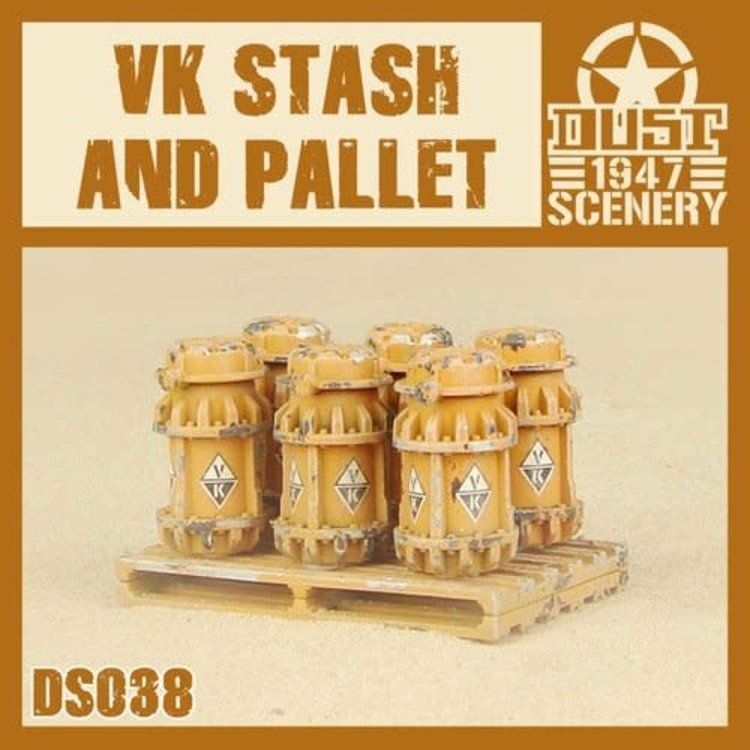 Dust DUST 1947: VK Stash on pallet