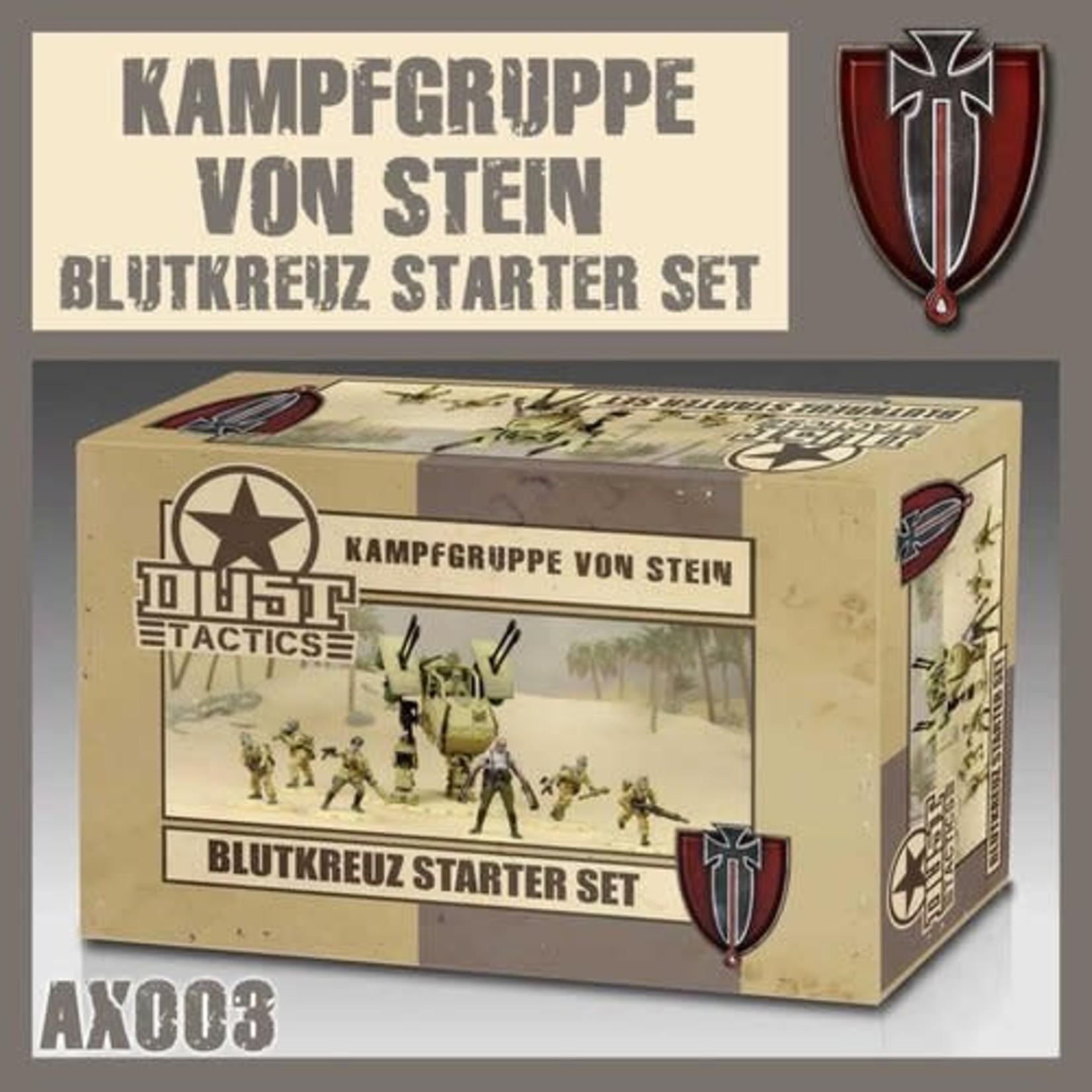 Dust Dust 1947: Blutkreuz Starter - Kampfgruppe Von Stein