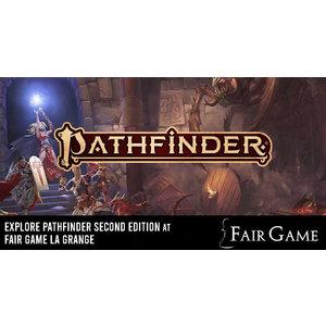 Admission: Pathfinder Second Edition Game (October 19 at La Grange)