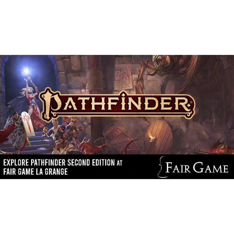 Admission: Pathfinder Second Edition Game (October 19 at La Grange)