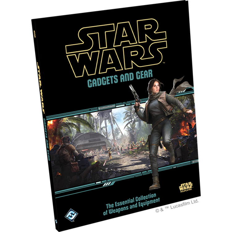 Fantasy Flight Games Star Wars RPG: Gadgets and Gear Hardcover
