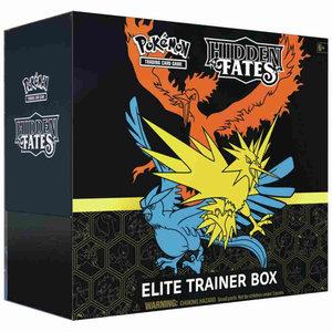 Pokemon International Pokemon Trading Card Game: Hidden Fates Elite Trainer Box