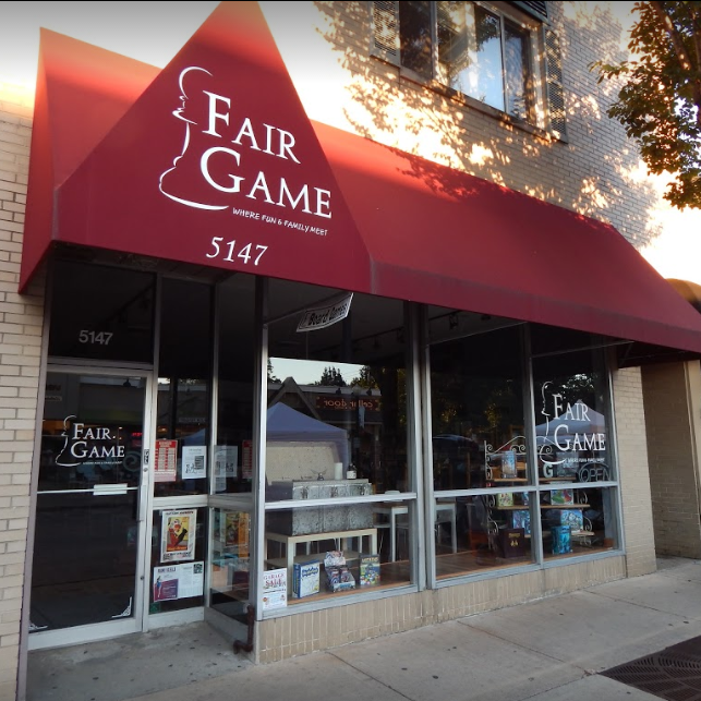 Fair Game Downers Grove Storefront