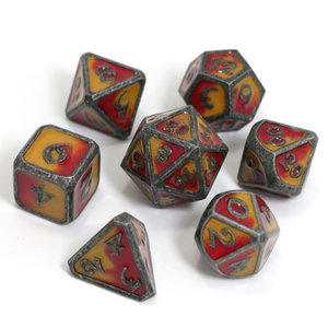 Die Hard Dice Die Hard Dice: Polyhedral Metal Dice Set - Spellbinder Brimstone