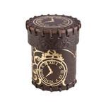 Q Workshop Q-Workshop Leather Dice Cup: Steampunk
