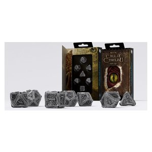 Q Workshop Q-Workshop Metal 7-Die Set Call of Cthulhu