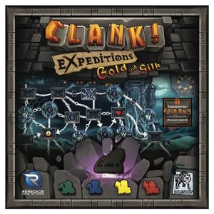 Renegade Clank! Expeditions: Gold and Silk Expansion