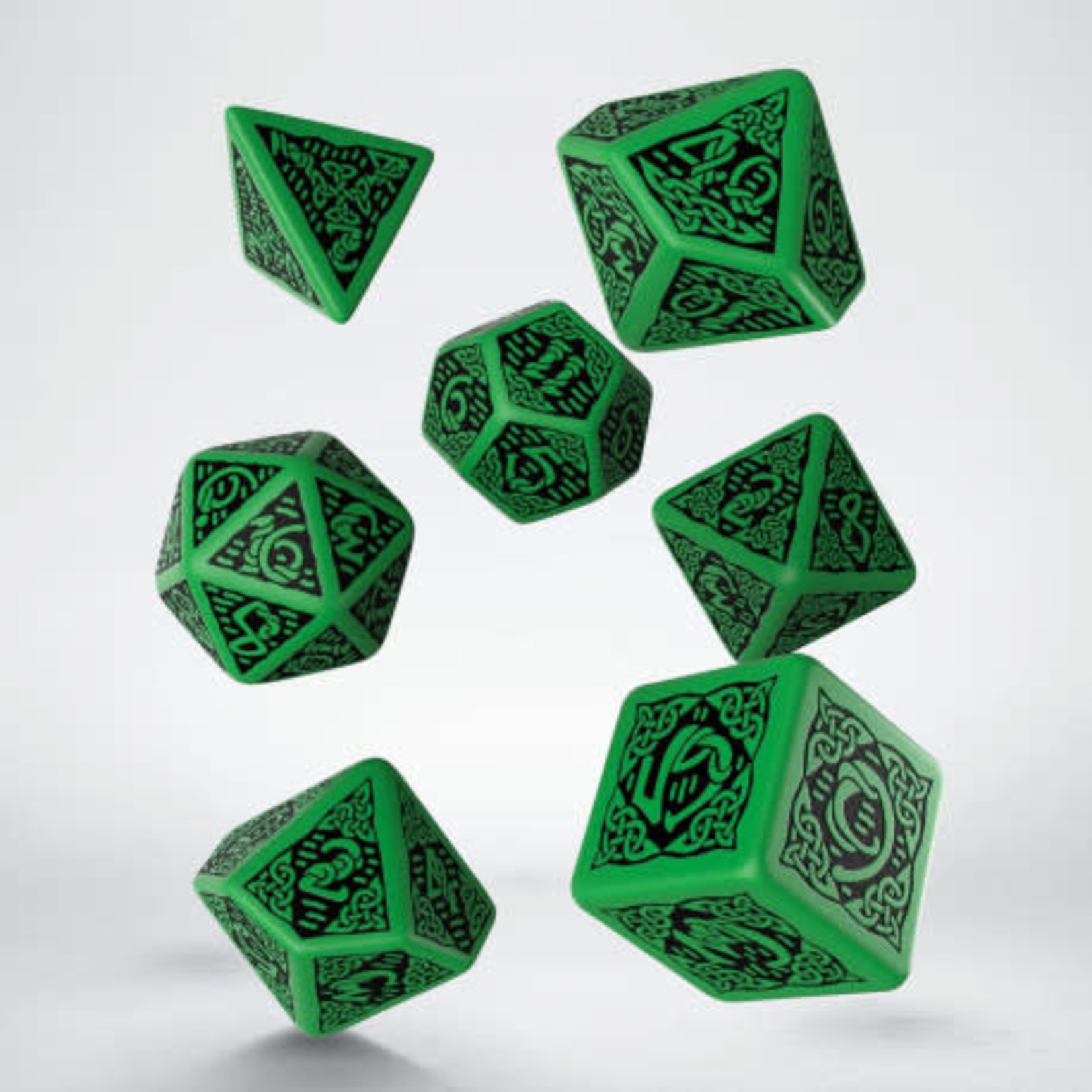 Q Workshop Q Workshop 3D 7-set Celtic : Green/Blk