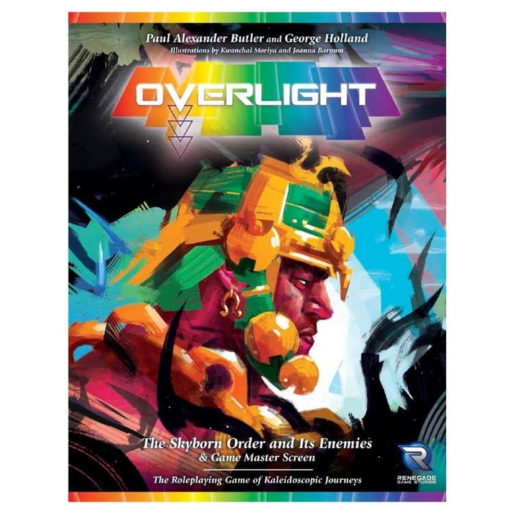 Renegade Overlight RPG Sourcebook & GM Screen