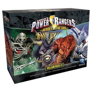 Renegade Power Rangers: Heroes of the Grid - Villain Pack #1