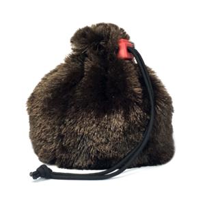 Red King Dice Bag: Fur (Brown)
