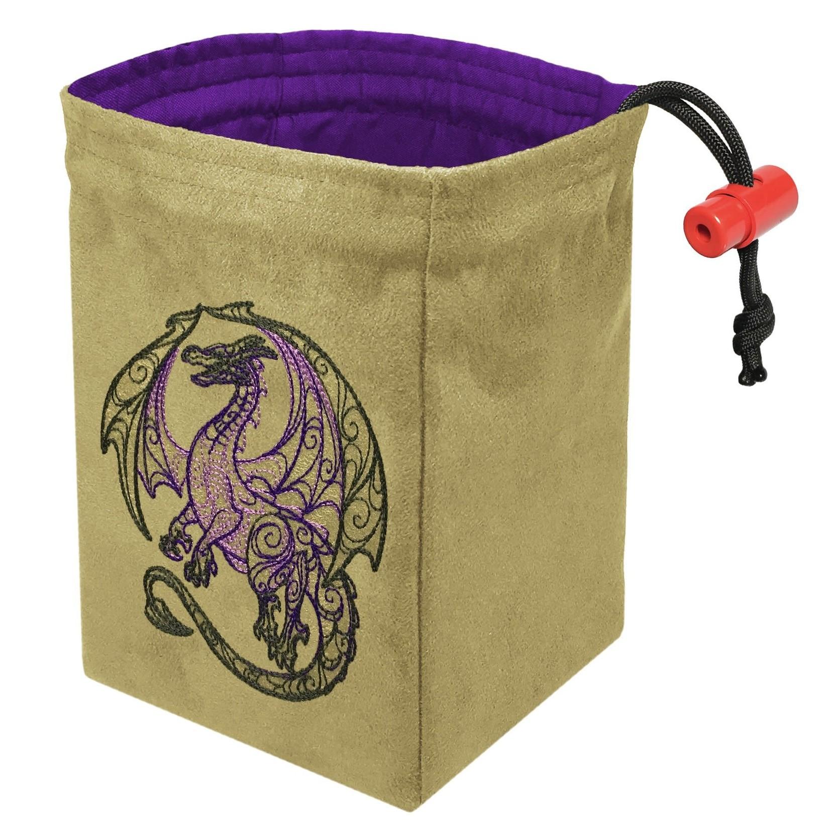 Red King Dice Bag: Dragon Doodle