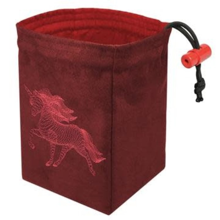 Red King Dice Bag: Dimensional Unicorn