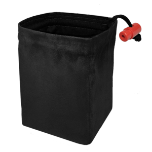 Red King Red King Dice Bag: Classic Black