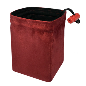 Red King Red King Dice Bag: Classic Red